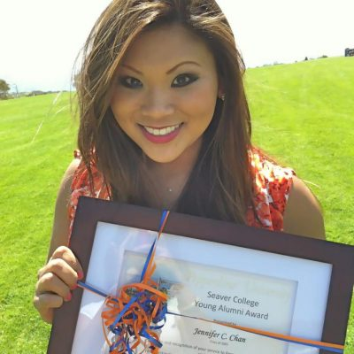 Pepperdine University Young Alumni Award Winner