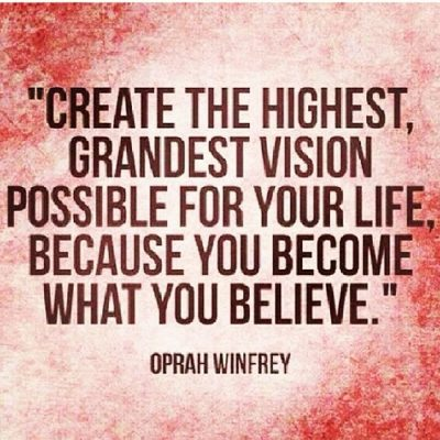 Yes to this. #wordstoliveby #quotes #blog #oprah #dreambig #werk