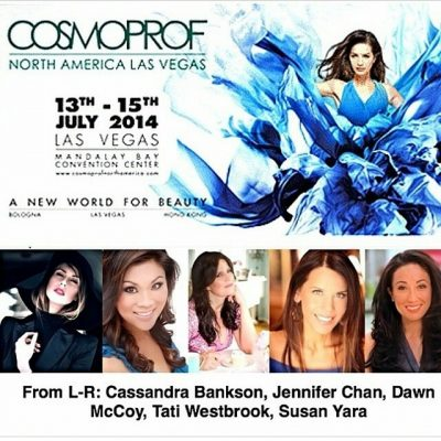 Beyond honored and thrilled to be a panelist and #beauty expert at this year's #Cosmoprof North America in #Vegas with these lovely ladies @beautyfrosting @susanyara ♡♡♡ Cant wait to rock Cosmoprof–who's going to be there??! #makeup #blog #beautyblogger #editor #lovewhatido #hair #nails #livingmydream #products #vloggers #host