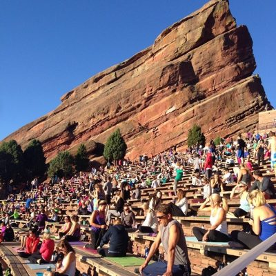 Yoga on the Rocks in Denver