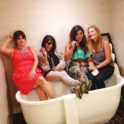Beauty Babes in a Bath Tub…Normal, I Know.