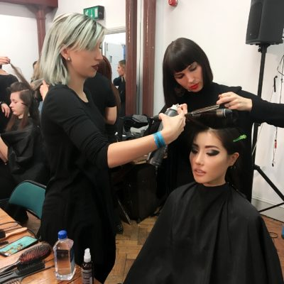 London Fashion Week: Backstage Beauty