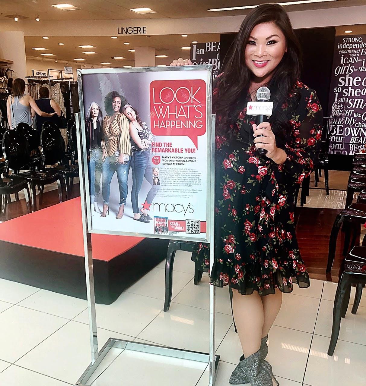 e57aae333 Hosting the Fall Fashion Show at Macy's Victoria Gardens | Jenn Chan ...