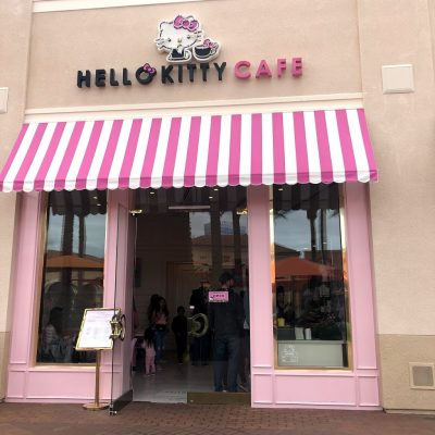 Hello Kitty Cafe Afternoon Tea